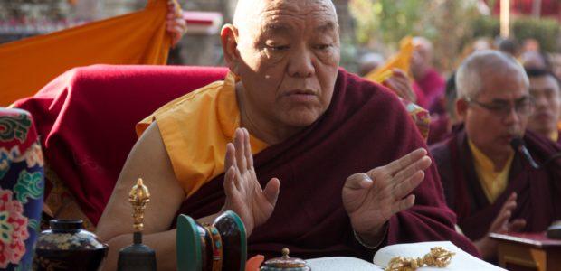 Beru Khyentse Rinpoche, a generous host of HH 17th Karmapa Trinley Thaye Dorje and many Kagyu Monlam 2012 participants.